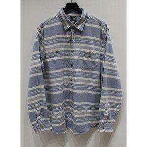 J Crew Mens XL long sleeve button up shirt striped